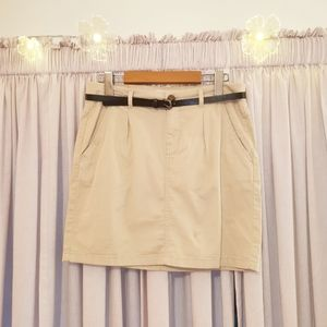 L.O.G.G. by H&M belted skirt